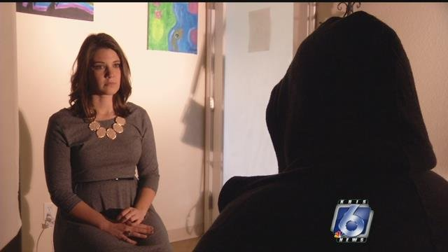 A local woman tells her story about sex trafficking here in Corpus Christi.