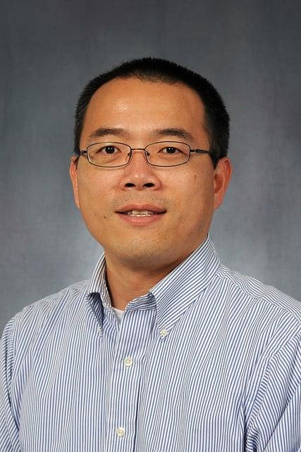 Dr. Xinping Hu will study water quality in Copano bay