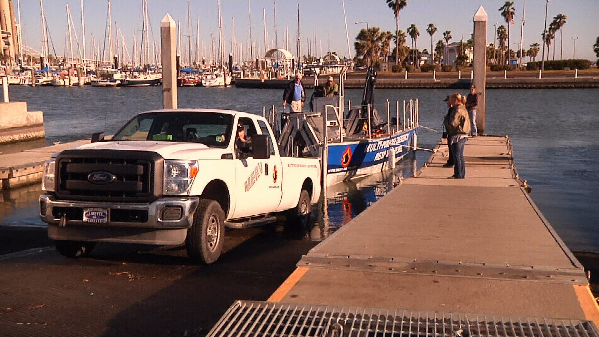 The MERV can be used in a variety of scenarios, from oil spills to water rescues.