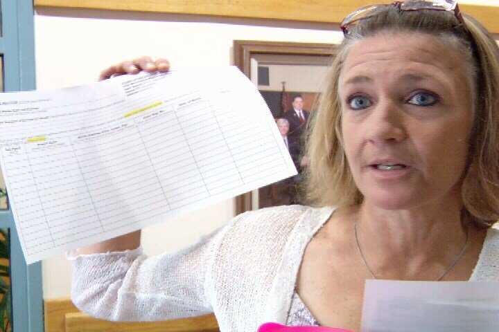 C.C. resident Leah Tiner is now gathering signatures for a petition calling for the recall of Mayor Nelda Martinez.