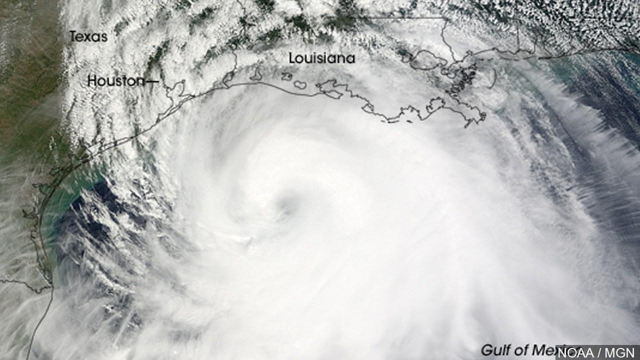 Hurricane Ike (Courtesy: NOAA & MGN)