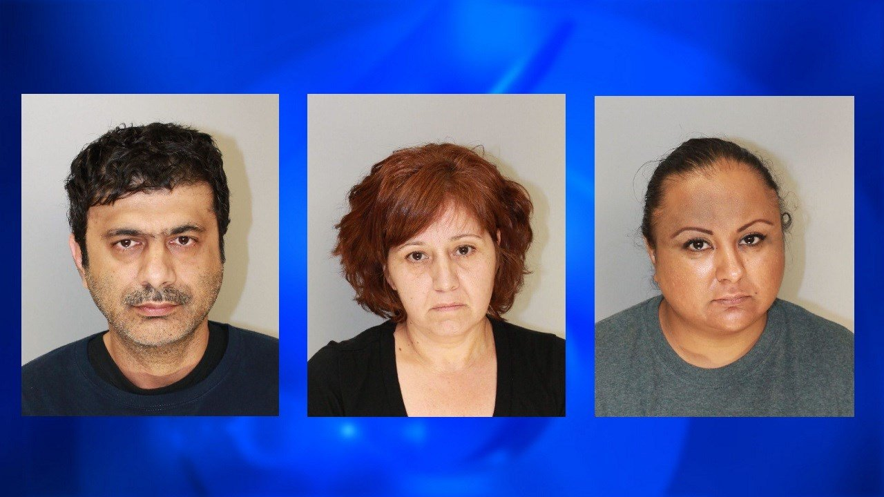 Shakir Abdul Memon, Catalina Ceballos, and Eva Linda Delapaz are all facing charges in connection with the raid.