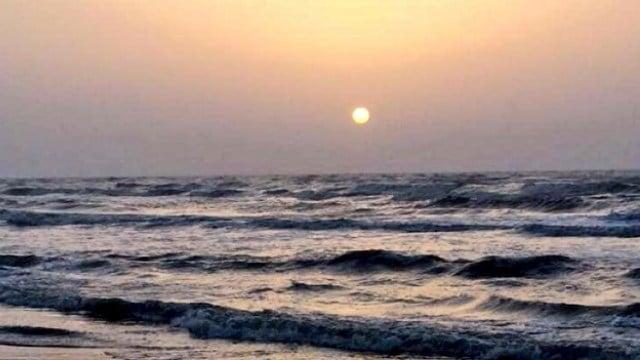 A beautiful sunrise on the beach. Thanks for the photo Dani.