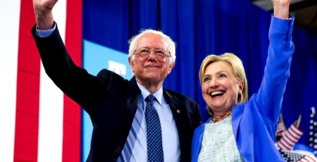 Sanders Endorses Clinton: 'Hillary Will Make an Outstanding President'