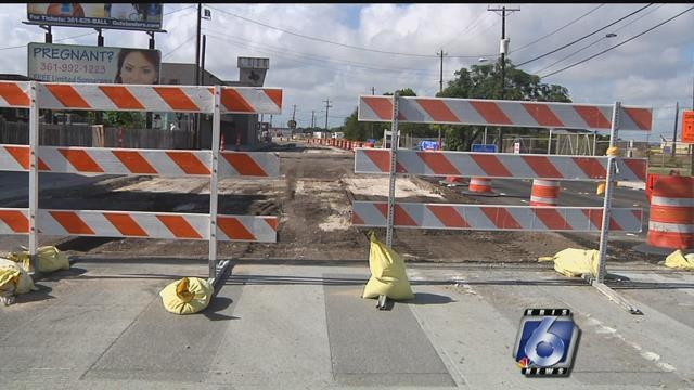 File Photo: Road Construction.  (KRIS)