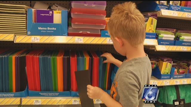 Make sure you're shopping smart when you're back to school shopping.