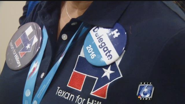 Mary Alice Palacios is a Hillary Clinton delegate.