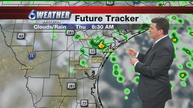 Scattered storms and humid through the weekend