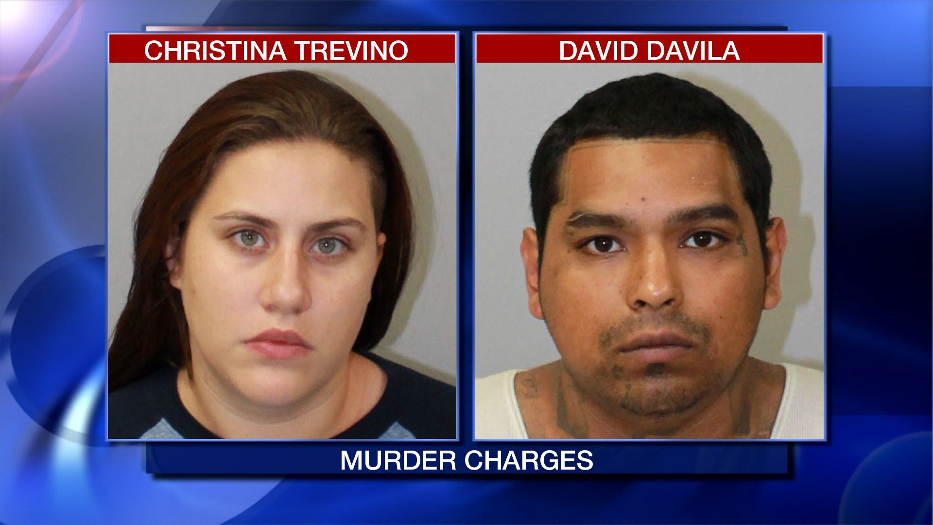 David Davila and Christina Trevino accused in the murder of 13-year old Alex Torres.