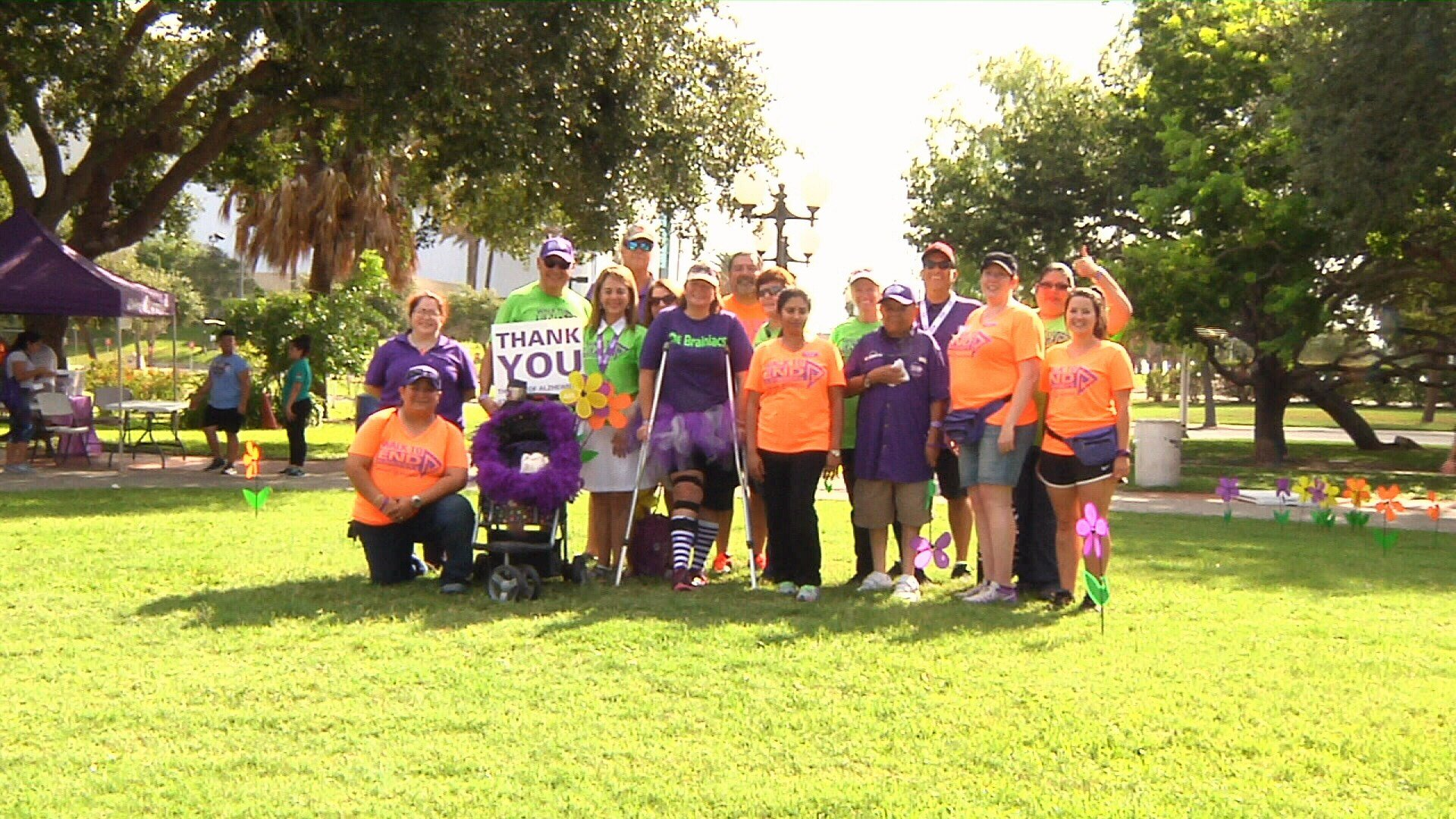 Alzheimer's Association plans walk around stadium Saturday to raise awareness