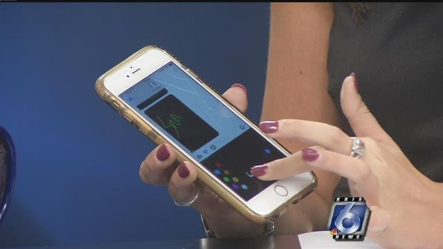 Our Emily Hamilton showed off some of the new iPhone O.S features.