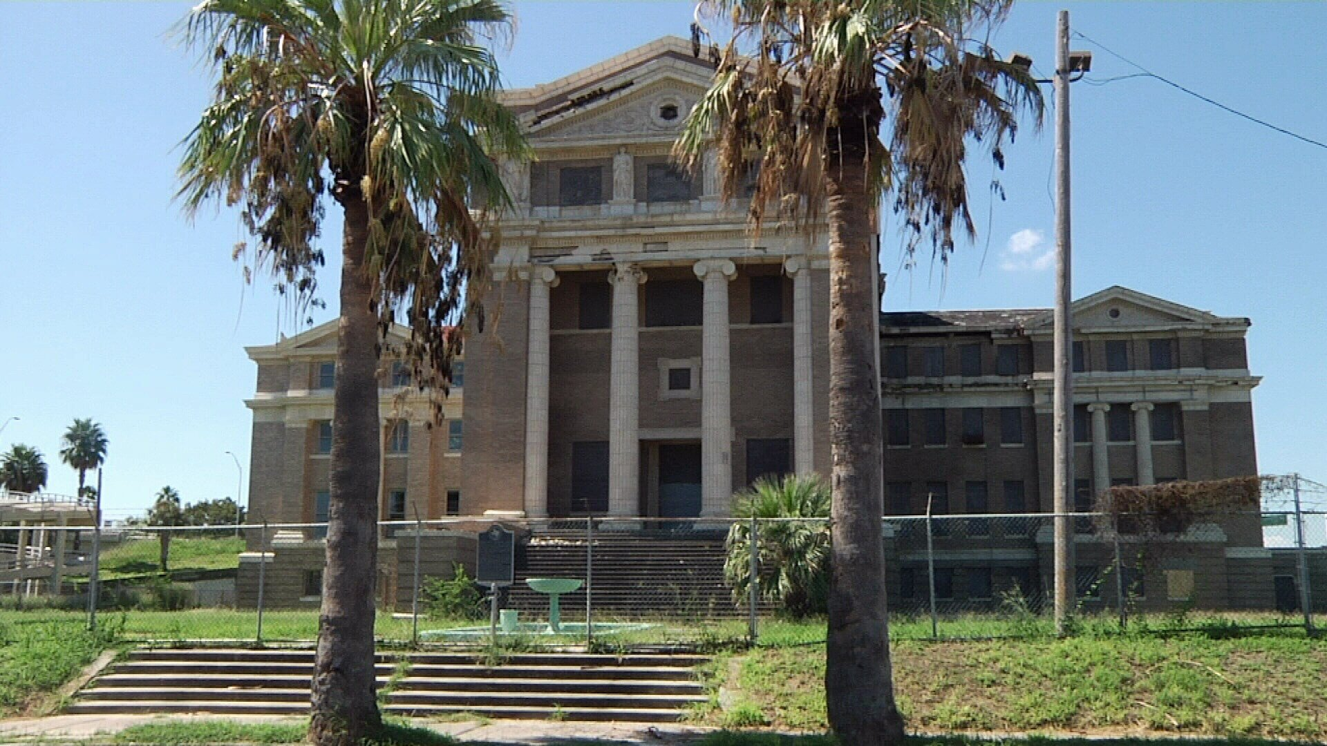 The county has put the former Nueces County Courthouse up for sale.