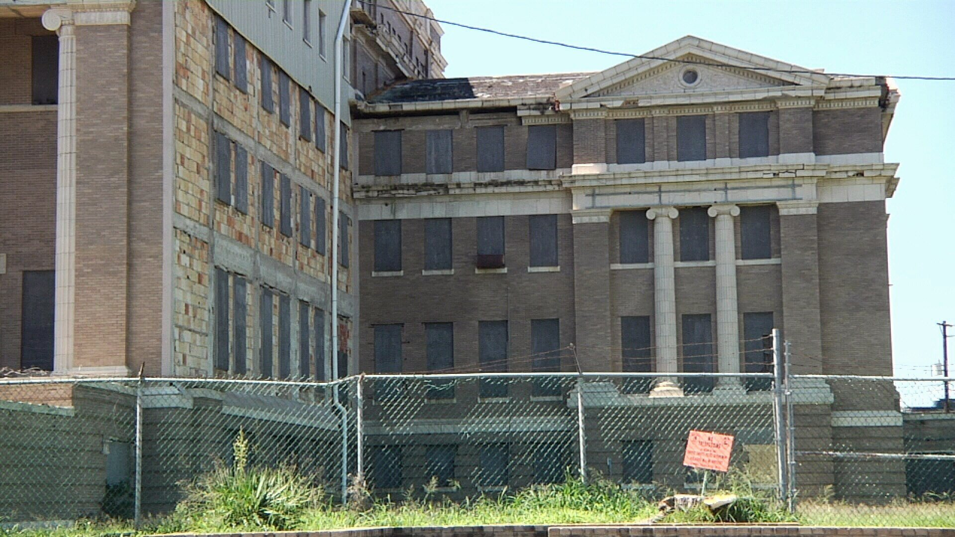The building has been vacant for nearly 40 years and would cost at least $40 million to repair.
