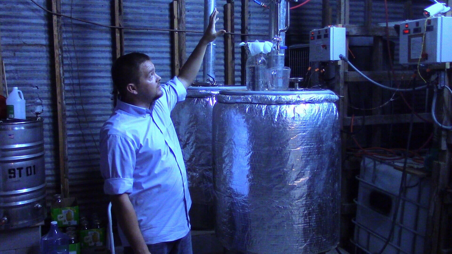 """Sales mgr. Justin Marshall explains how 'shine"""" is made"""