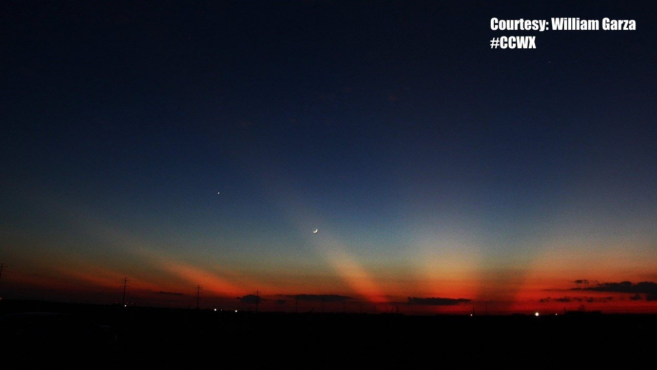 Sunset with Moon and Stars. Courtesy: William Garza