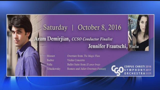Aram Demirjian, Corpus Christi Symphony Orchestra Conductor Finalist.