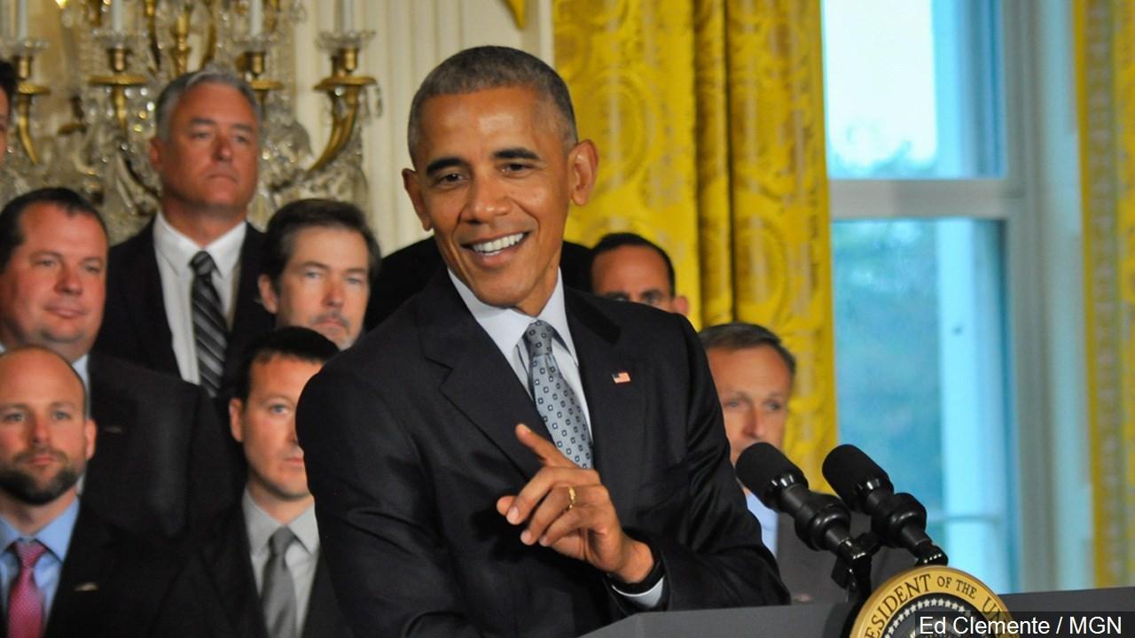 President Obama makes stop for Clinton in Greensboro