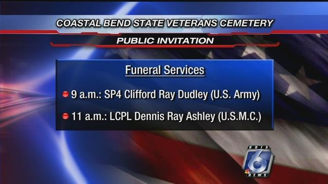 Photo: Image with information regarding the two veterans.