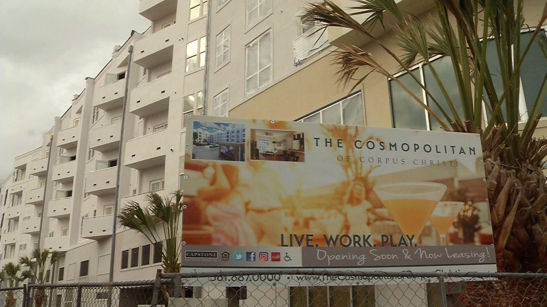 The Cosmopolitan developers made the first of several promises for a grand opening back in June of 2015, but two years later the luxury apartment complex is still empty.