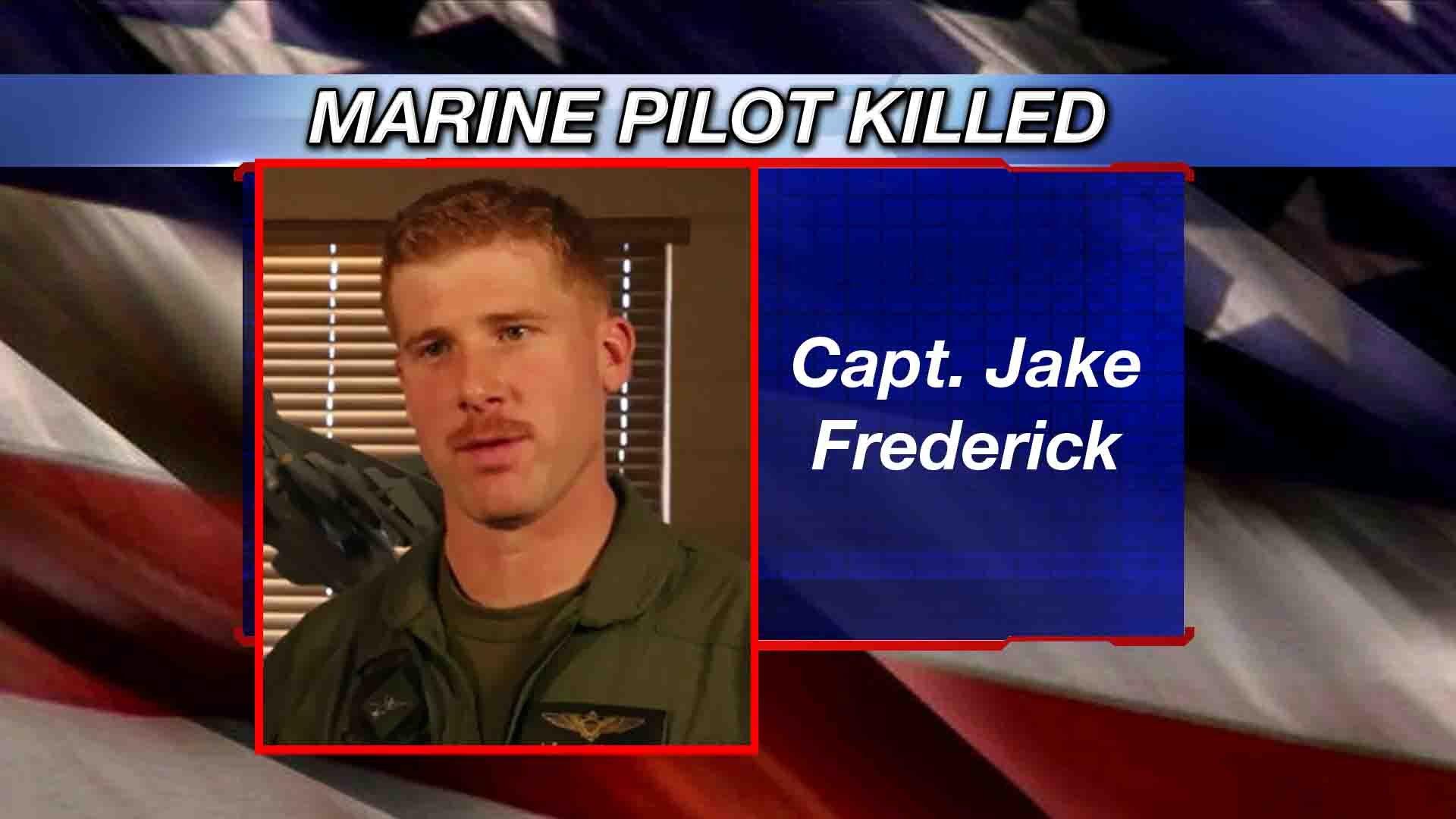 Marine pilot killed in Japan crash identified