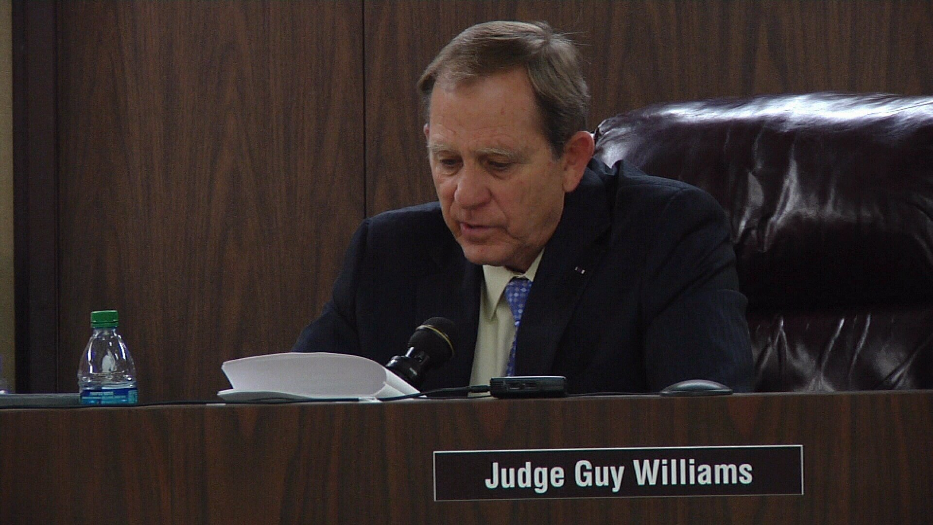Judge Guy Williams is accused of being involved in a road rage incident near Airline and South Padre Island Drive.