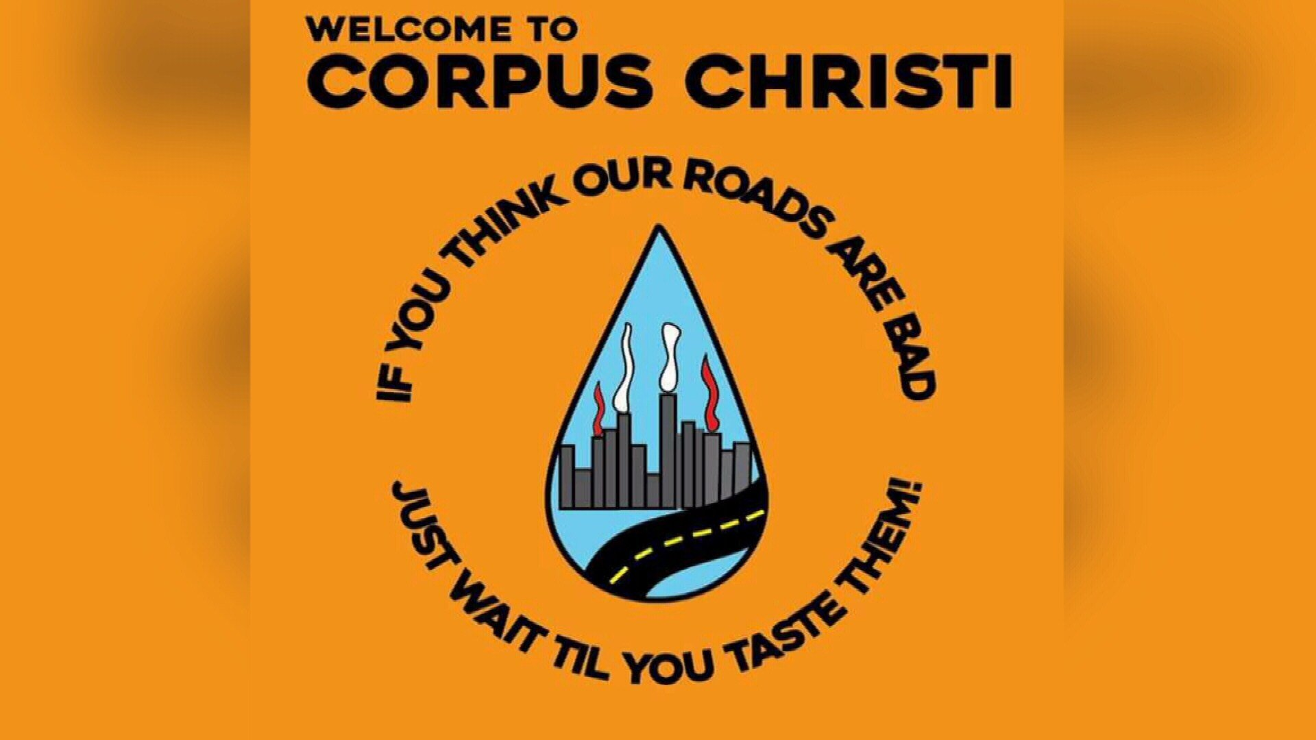 Corpus Christi has made national headlines for its water issues and dozens of negative memes about the city are circulating online.