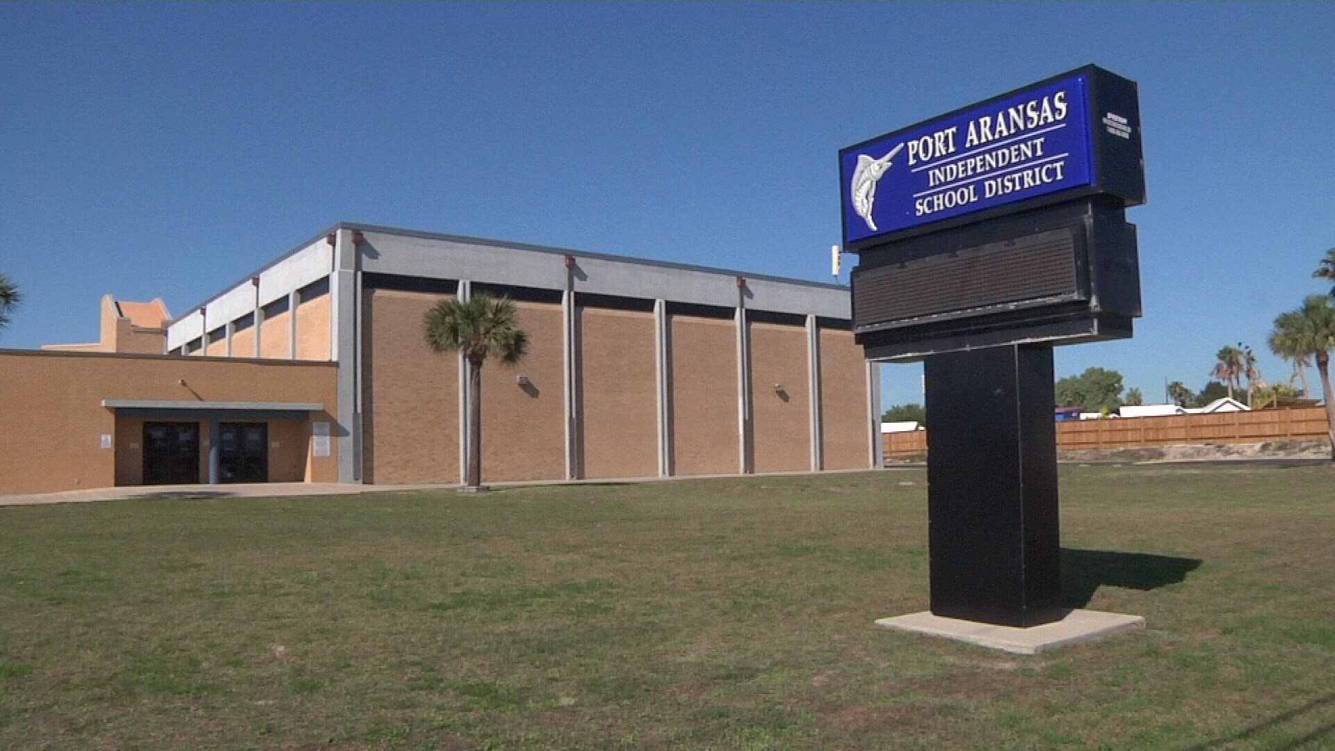 Port Aransas ISD is defined as a small school district by the state and loses a percentage of its funding.
