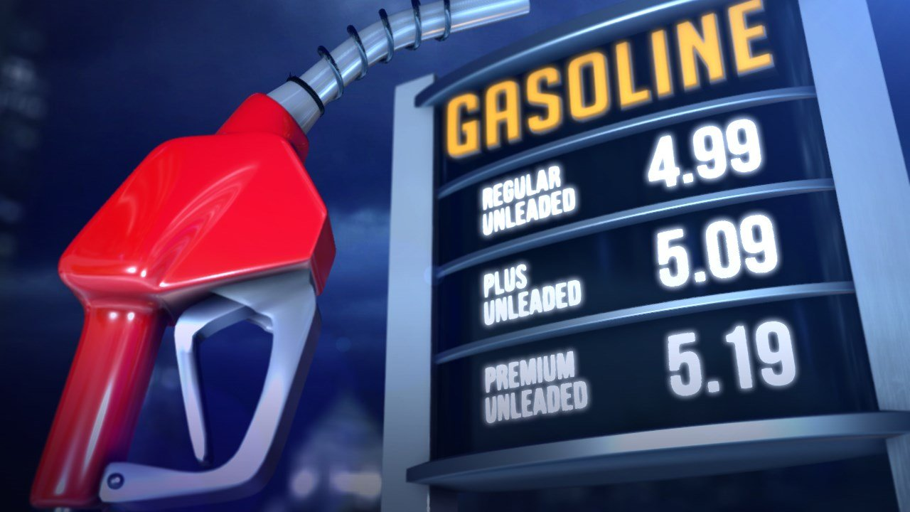 Statewide average gas prices fall 11 cents