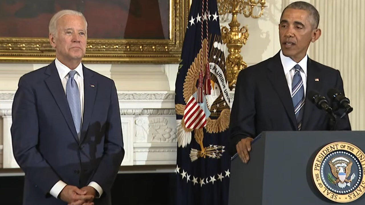 Pres. Obama awards Biden with Presidential Medal of Freedom