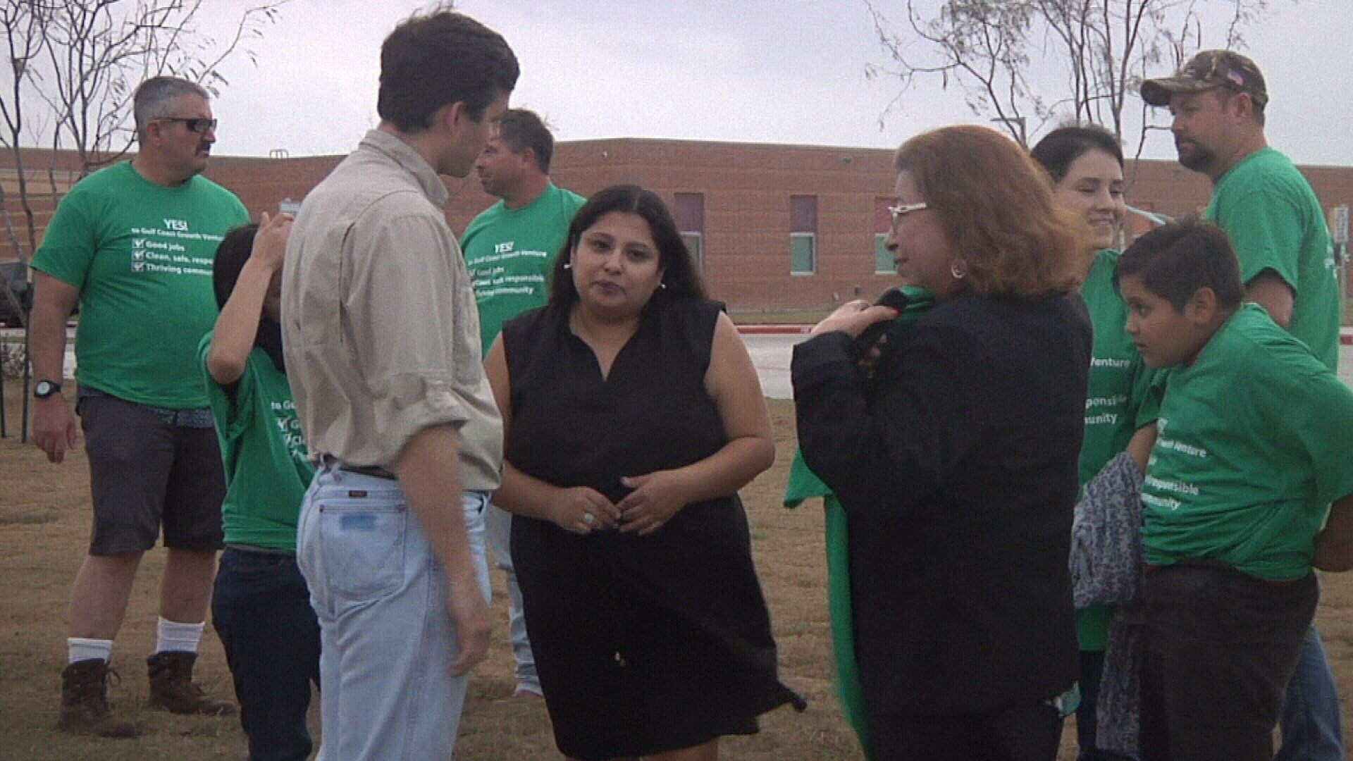 A group called 'United For Growth' supports the proposed ExxonMobil plant coming to San Patricio county.