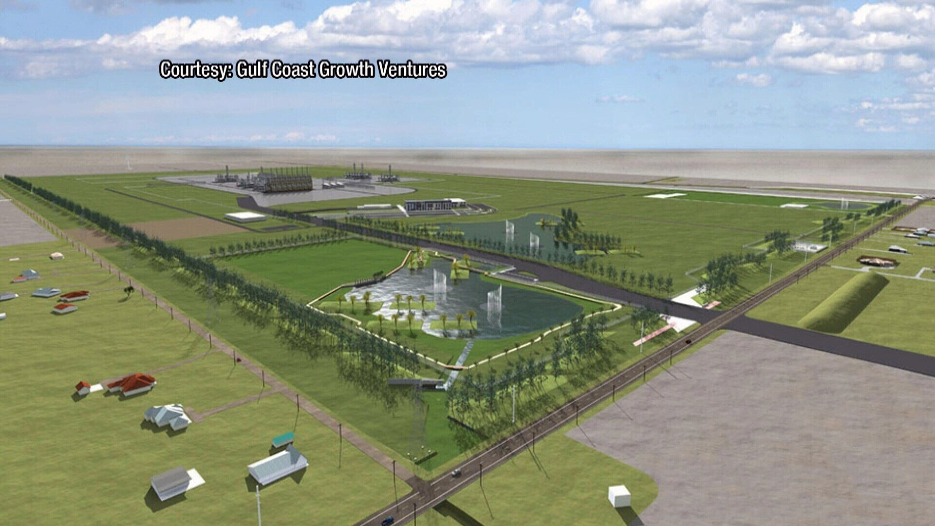 The plant is expected to create 11,000 construction jobs and 600 permanent jobs.