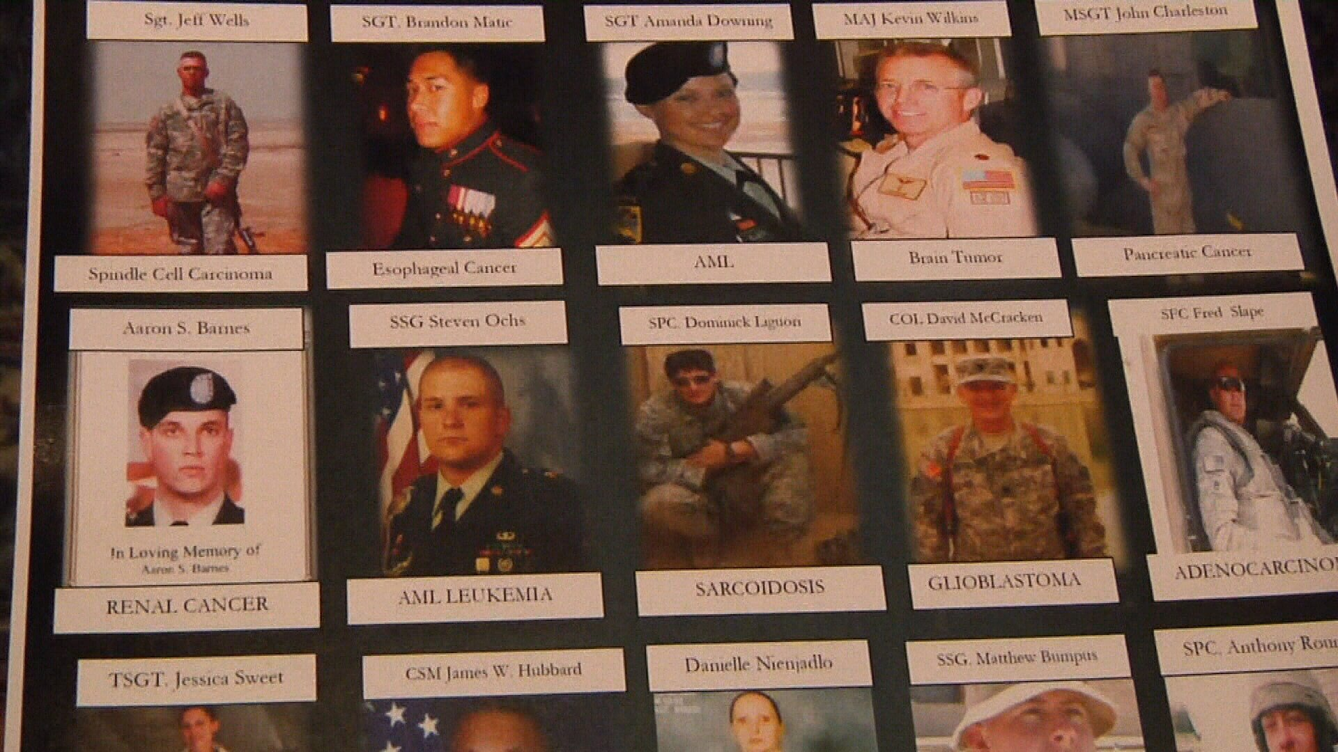 Bills filed on the state and federal levels aim to provide more medical services to veterans who have been exposed to burn pits.