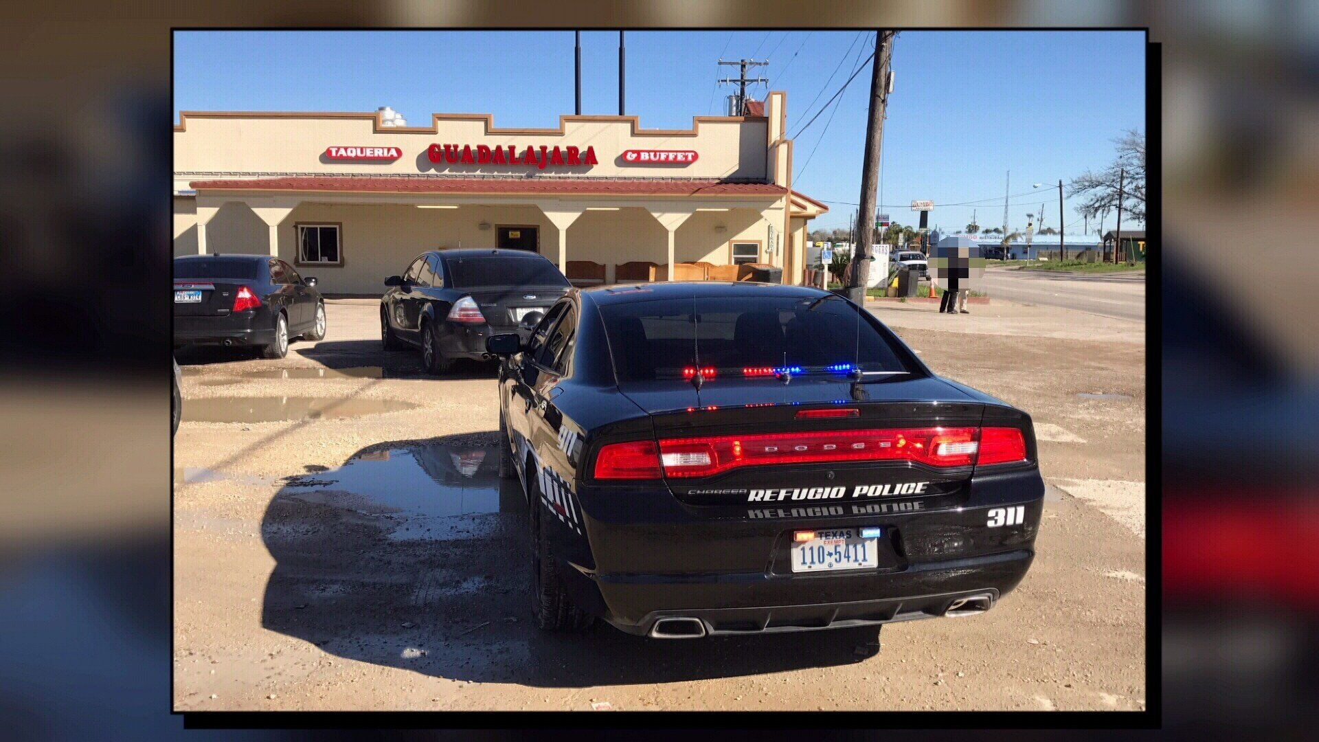 Various law enforcement agencies collaborated in a raid type operation in Refugio Tuesday morning.