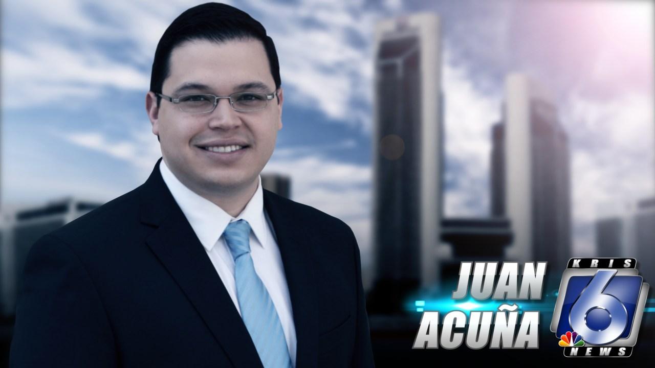KRIS 6 Meteorologist Juan Acuña