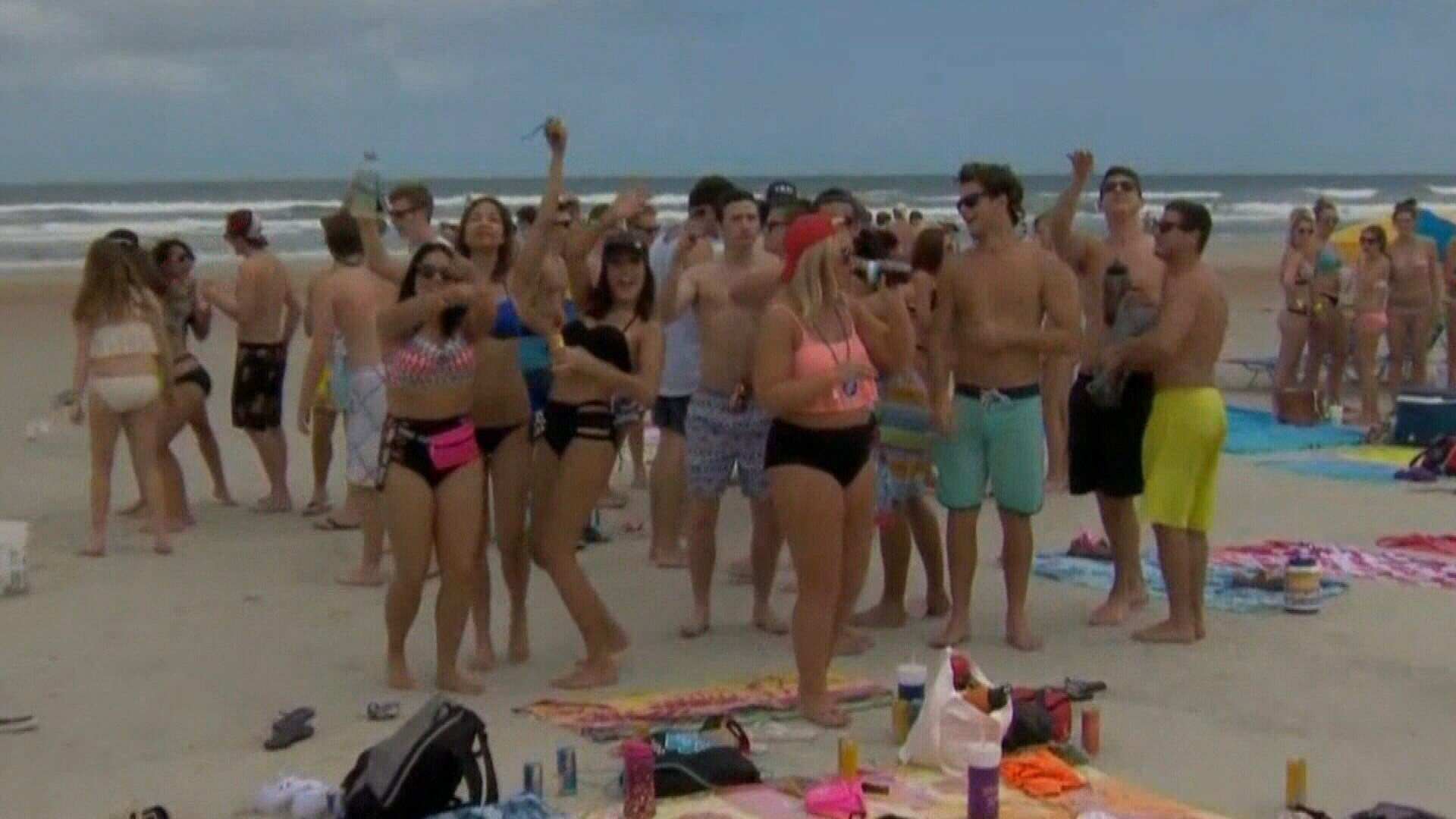 Police will also have extra patrols on Padre Island and remind there are certain rules in place during spring break.