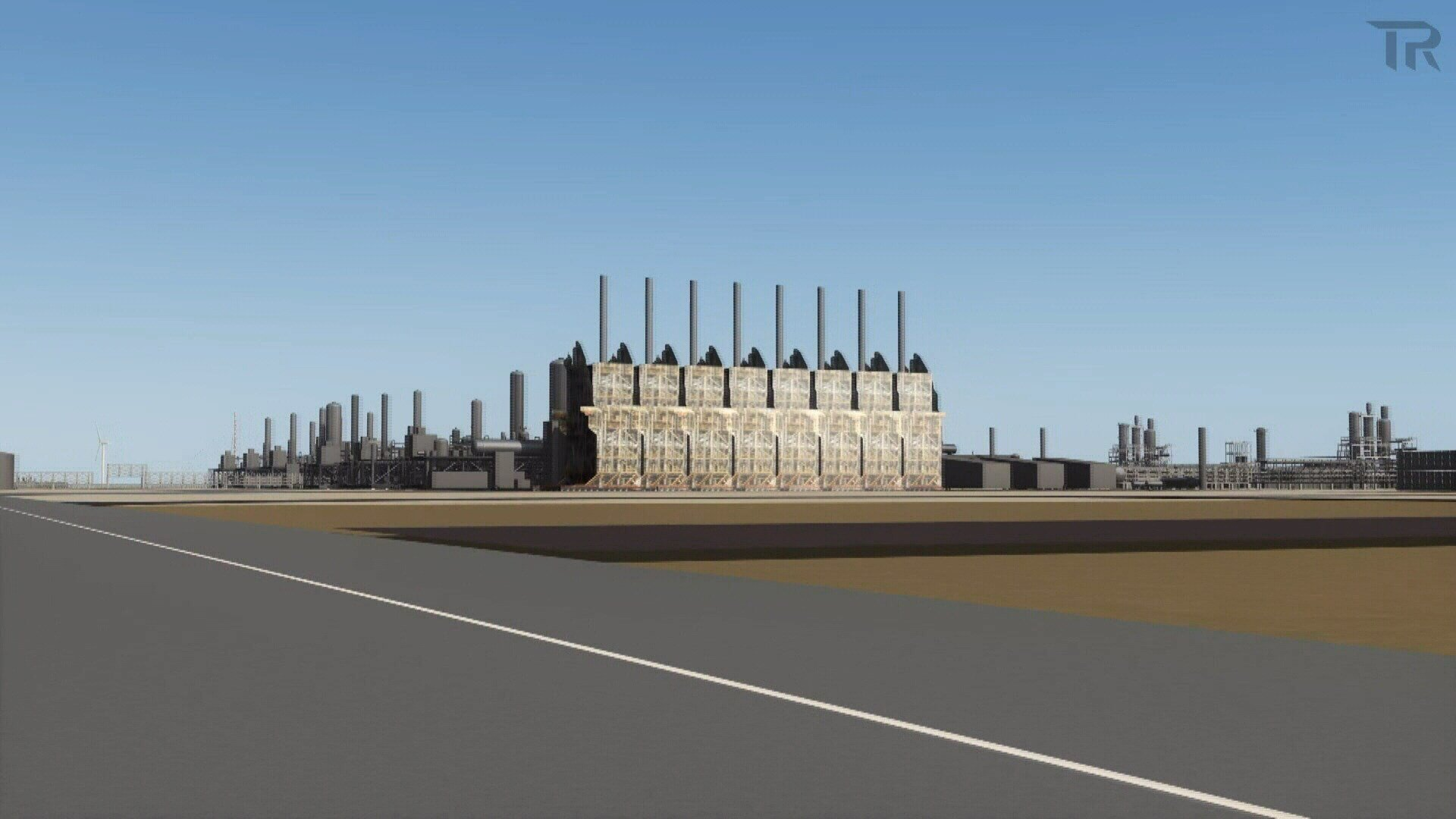 A look at how the proposed ExxonMobil plant might look.