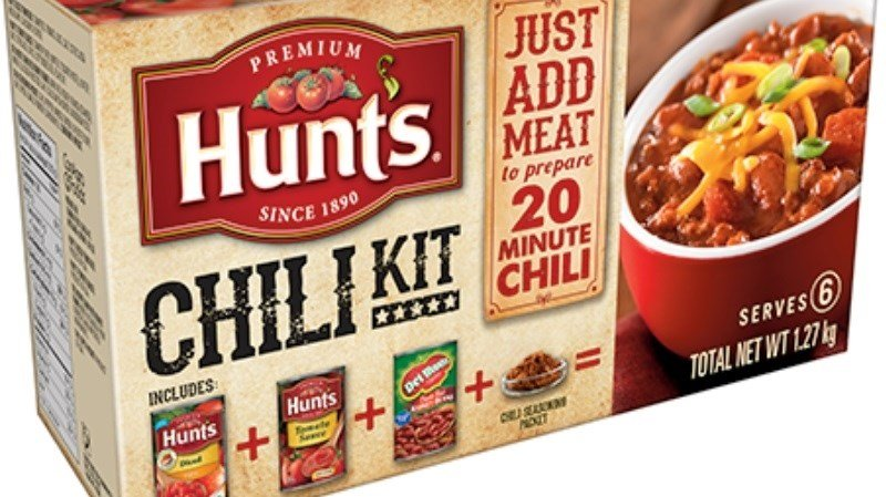 Hunt's Chili Kits Recalled For Salmonella Fear — RECALL ALERT