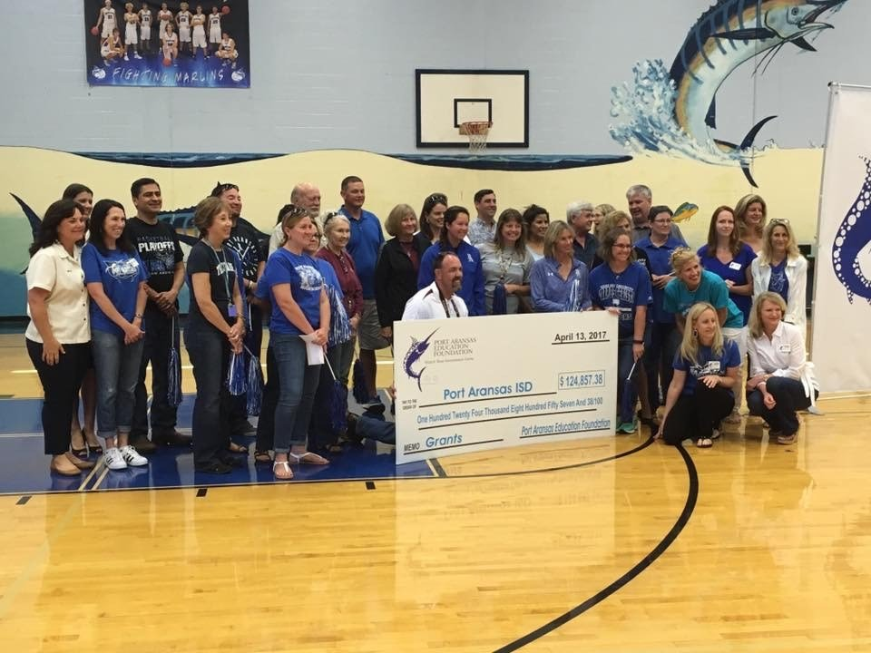 The Port Aransas Education Foundation awarded more than $100,000 to the city's school district.