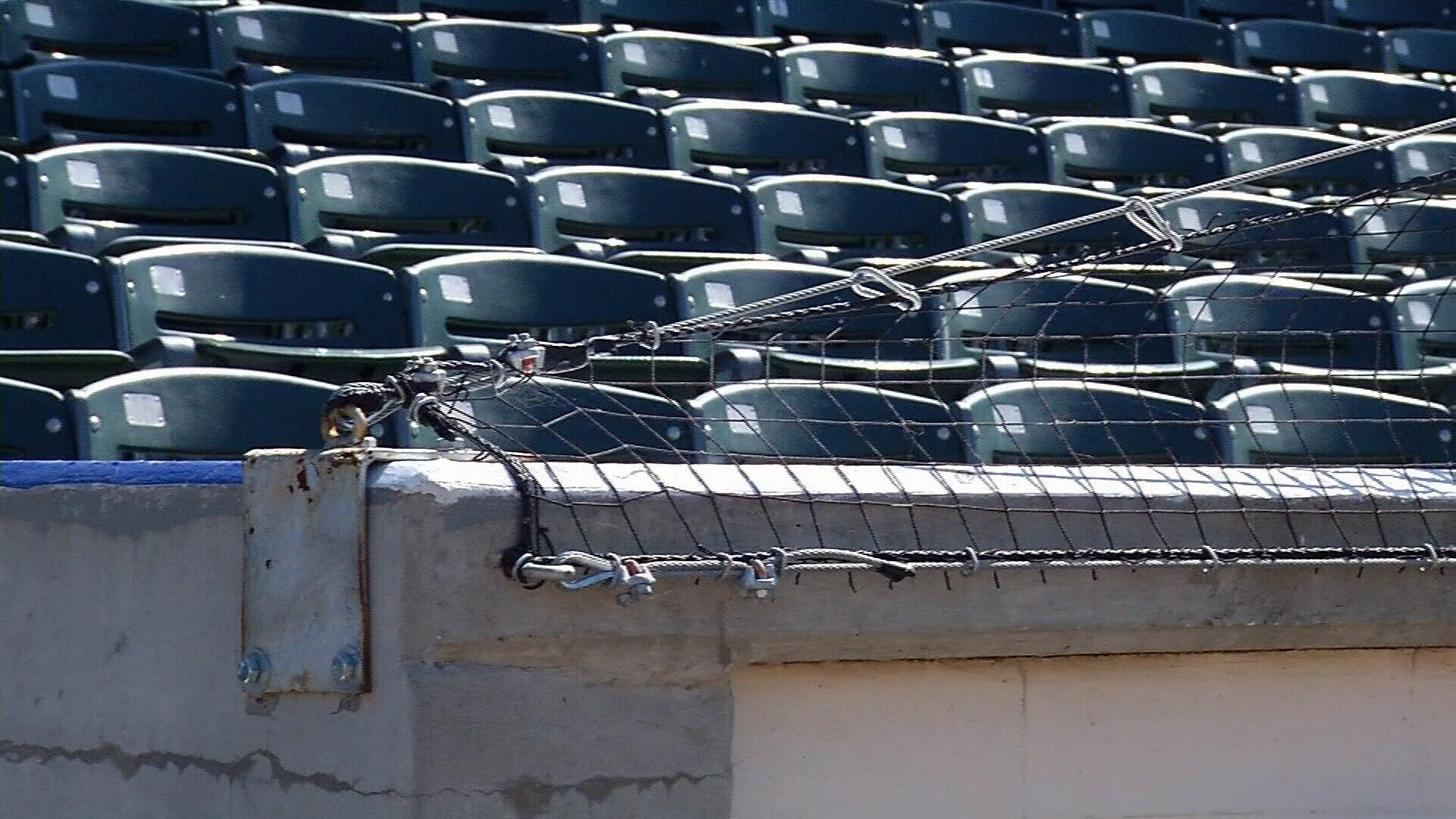 Whataburger field has extended its safety nets to help protect Hooks fans from foul balls and other objects that might fly into the stands.