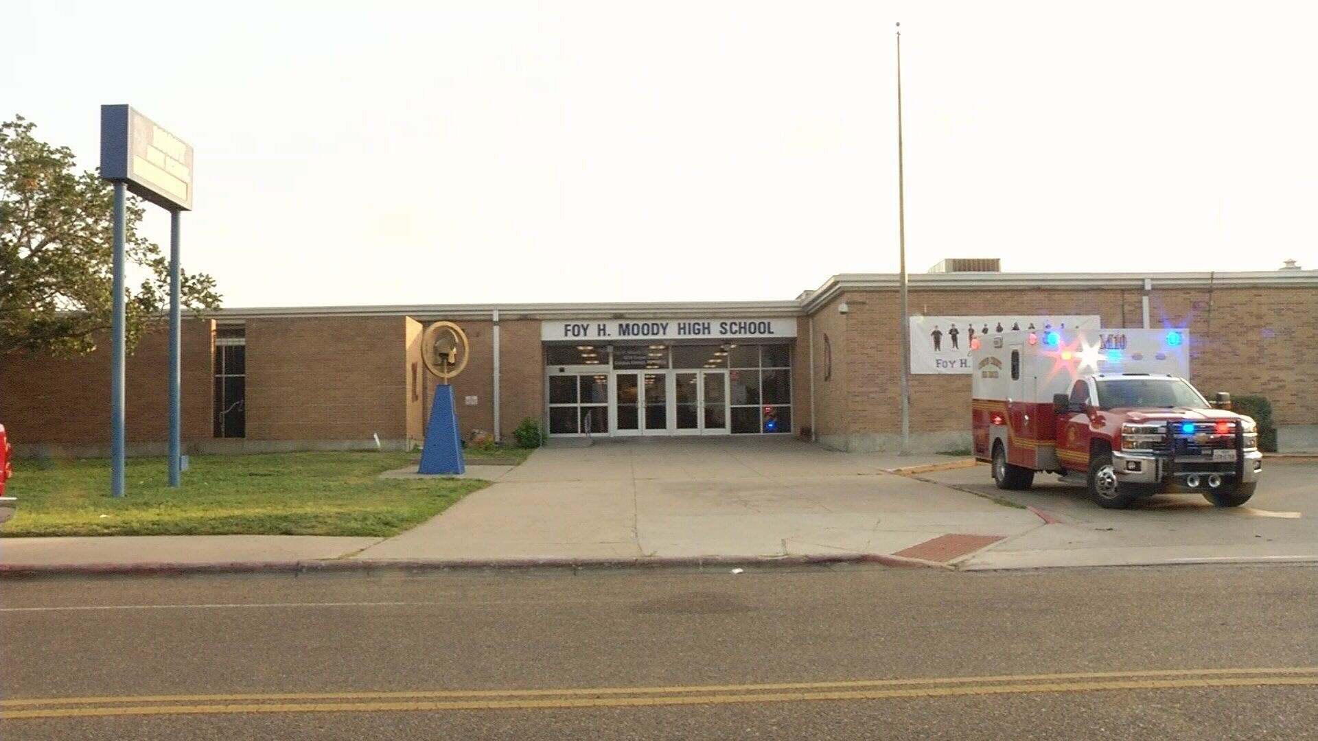 A CCISD Security Officer found a young boy hiding inside a Moody High School restroom Thursday morning.