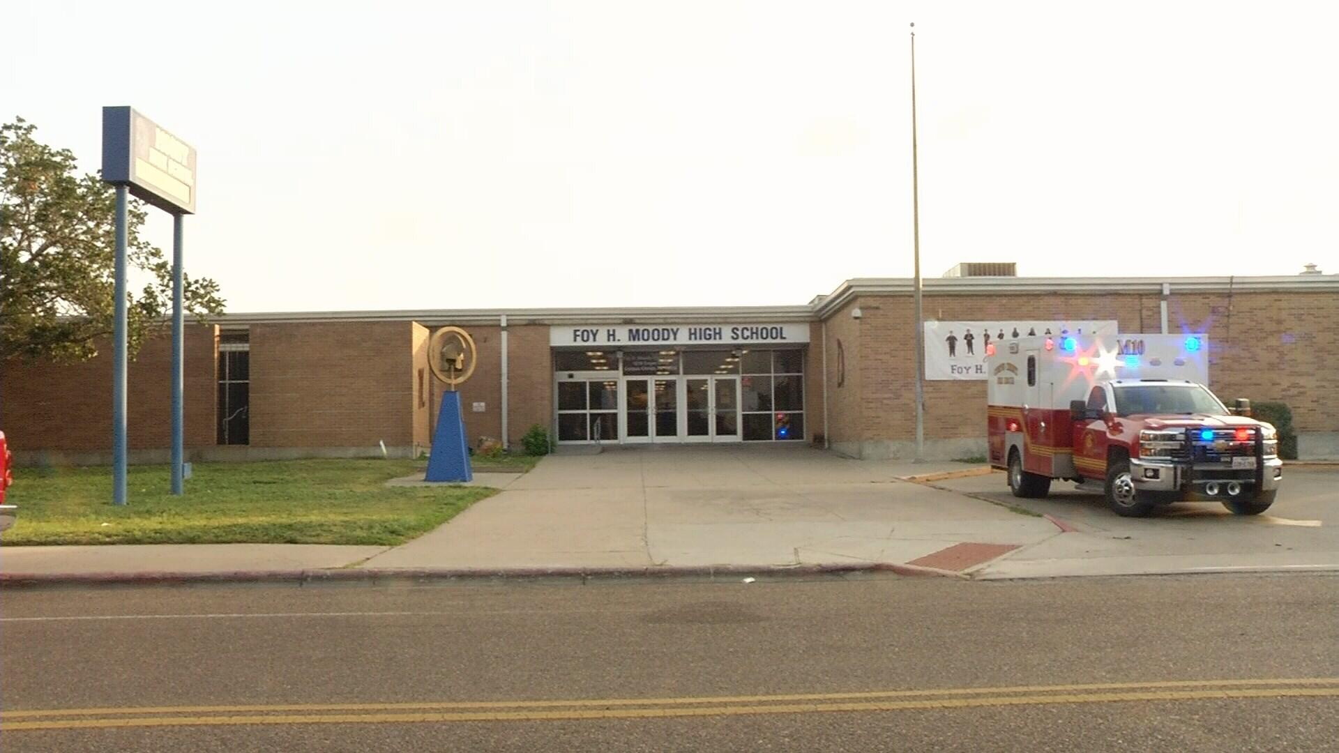 A CCISD Security Officer found a young boy hiding inside a Moody High School restroom Thursday morning.