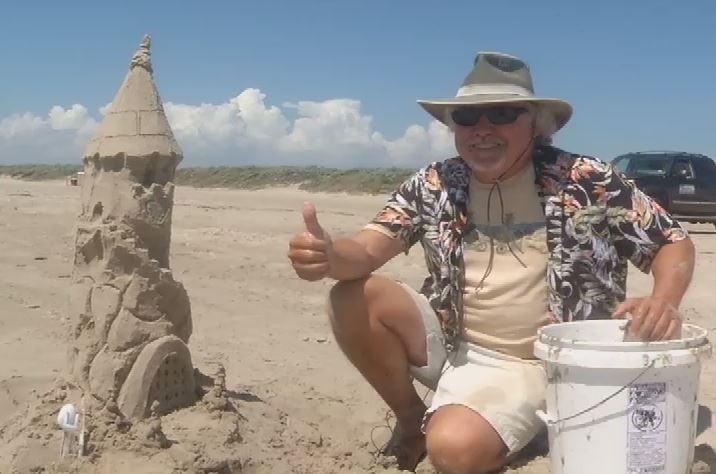 "Mark the ""Sandcastle Guy"""