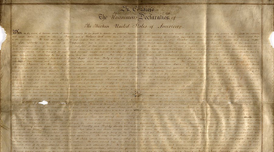 Harvard finds parchment copy of Declaration of Independence