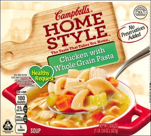 Campbell's recalls 'Homestyle' chicken soup