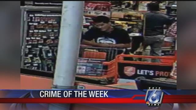 Detectives are searching for a man accused of shoplifting from several locations around the city.