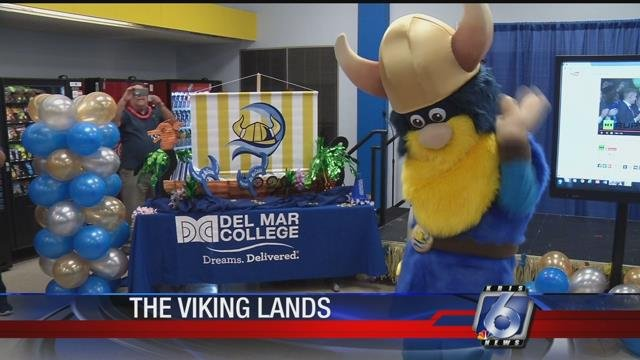 Del Mar College's new mascot design was the result of a campaign that gathered input from students.