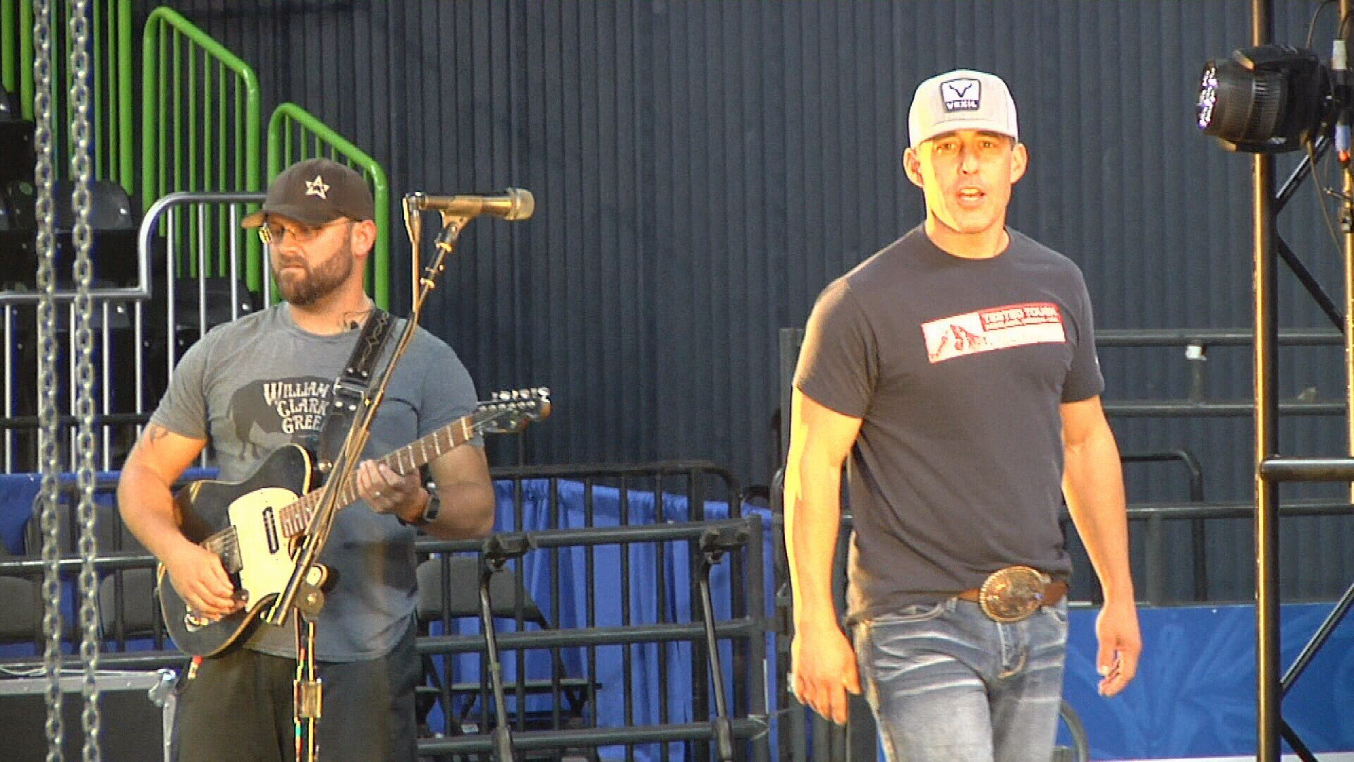 Country singer Aaron Watson is singing is classics at the rodeo Friday.