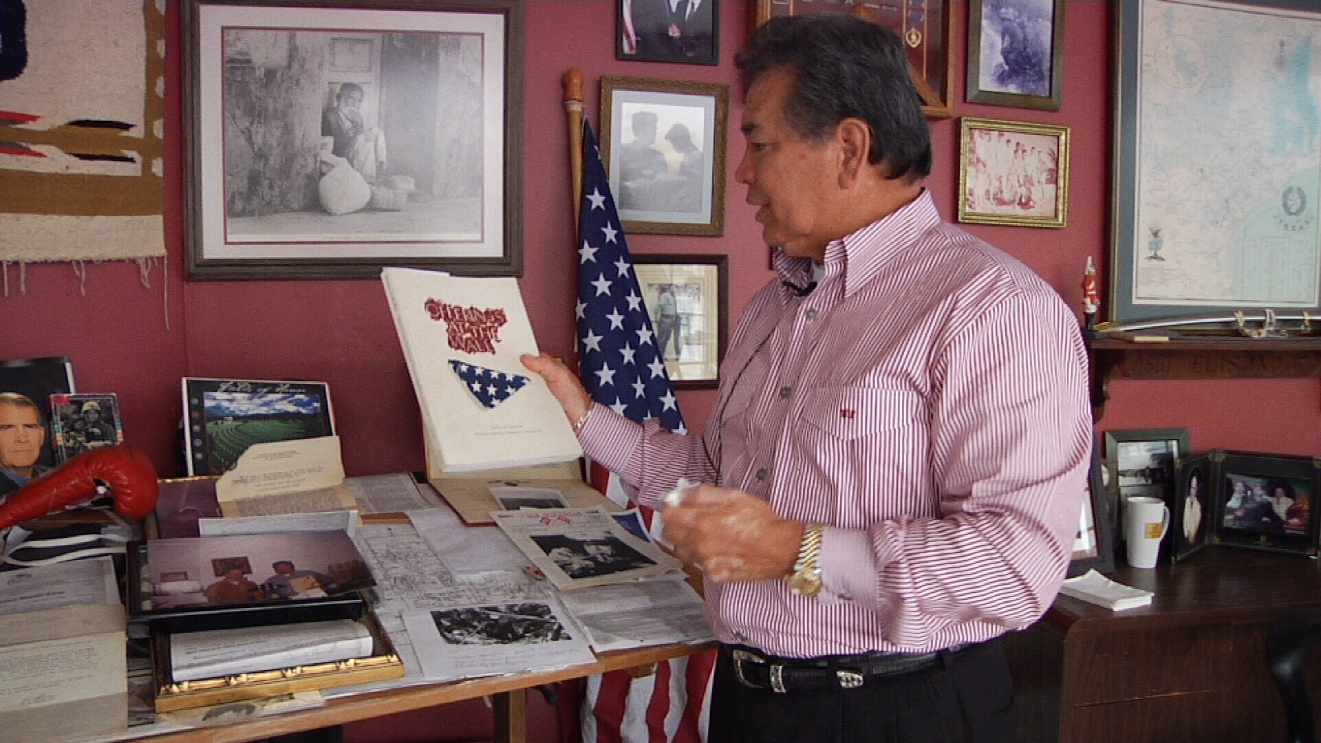 Former Marine Joe Elizondo was close to death in Vietnam, and believes he can find the man who rescued him somewhere in Corpus Christi.