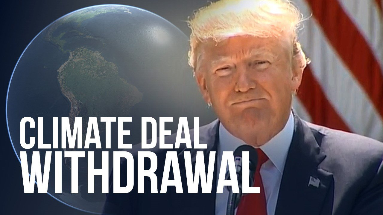 Trump announces decision to withdraw from Paris Climate Change Accord