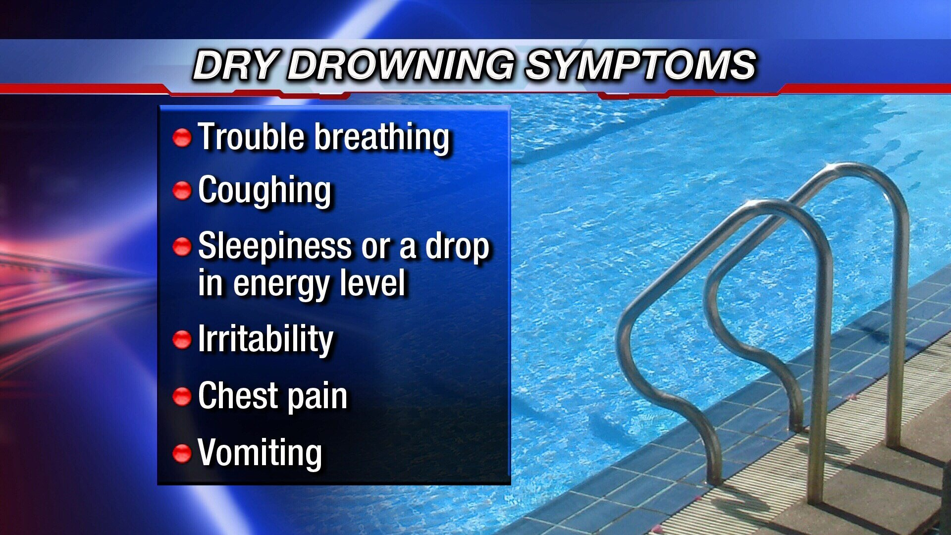 Dry drowning may have claimed child's life
